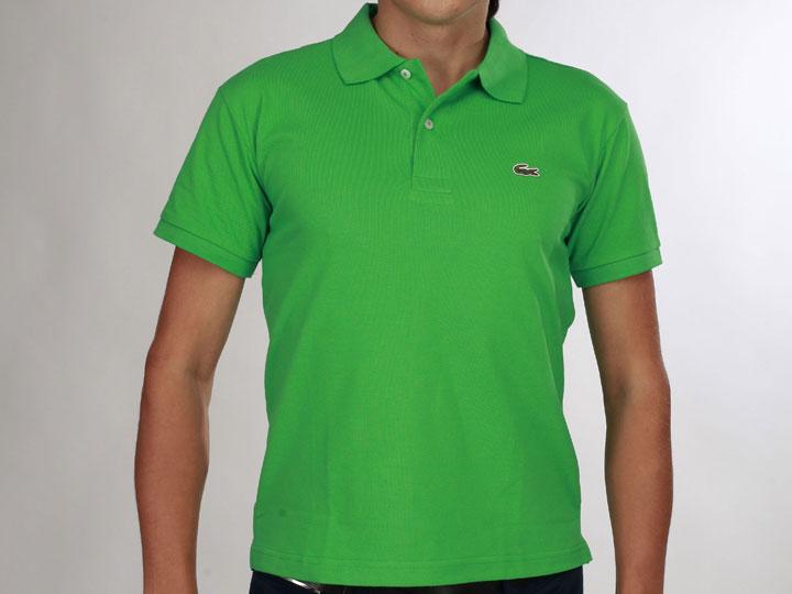 7db4cd9cc52 Купить зеленое мужское поло Lacoste